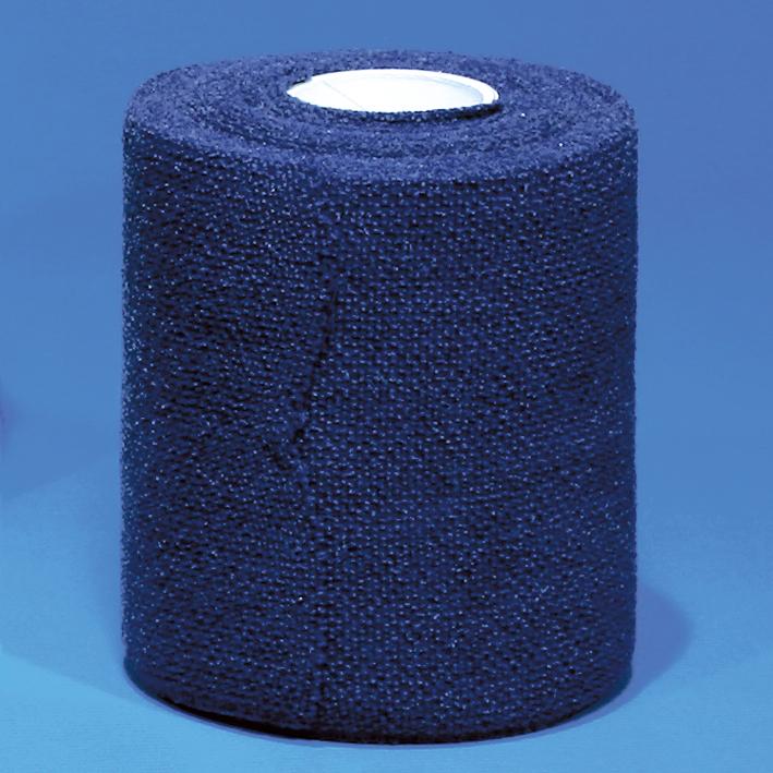 medihaft Kompressionsbinden, 5 m x 4 cm, blau (10 Stck.)
