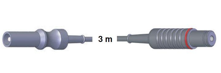 Bipolar Anschlusskabel, ERBE -> Storz, 3,0 mtr.
