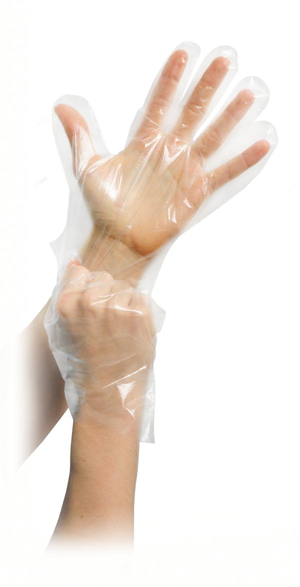 PE-Handschuhe, unsteril, Gr. 1 Damen, 100St./Beutel