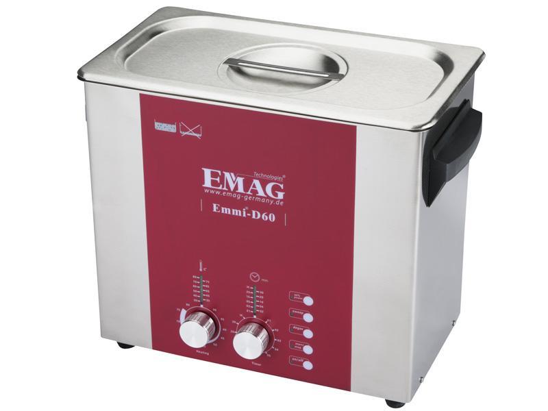 Emmi D60, Ultraschall-Reinigungsgerät, 6,0 Ltr.