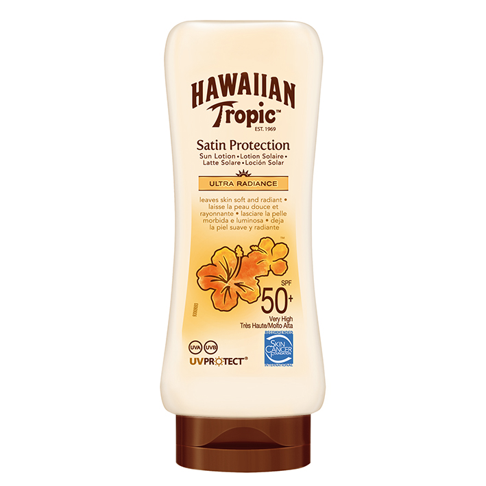 Hawaiian Tropic Satin Protection Sun, Lotion 180 ml mit LSF 50+ #Y300457402#