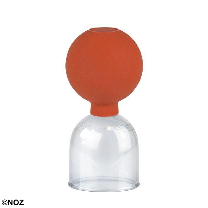 Schröpfglas aus Kunststoff, Gr. 3, ca. Ø 4,7 cm mit Ball