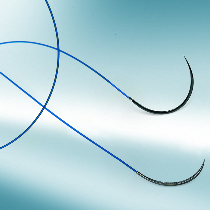 Optilene DS 19, 4/0=1,5 Nahtmaterial, blau, Fadenlänge 45 cm (36 Stck.)