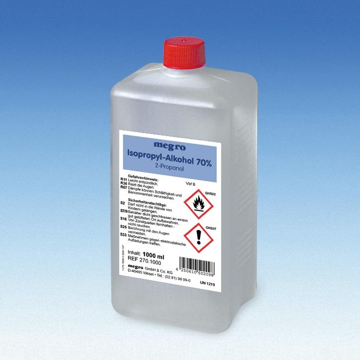 Isopropyl-Alkohol 70 % 1 Ltr.