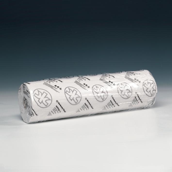 SCOTT ESSENTIAL Ärzterollen, 1-lagig, weiß, geprägt, 50 x 38 cm (6 x 190 Bl.)