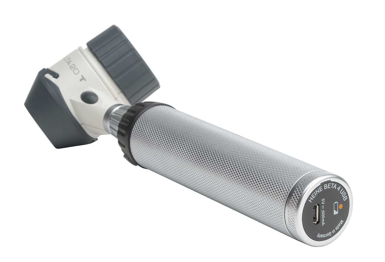 DELTA 20 T Dermatoskop-Kit LED mit Kontaktscheibe und Skala,