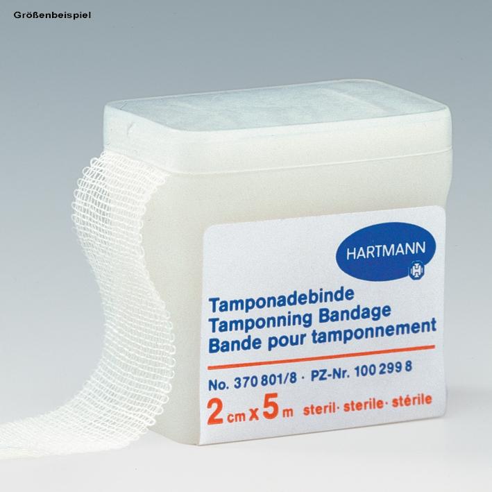 HARTMANN Tamponadebinde, steril 5 m x 1 cm