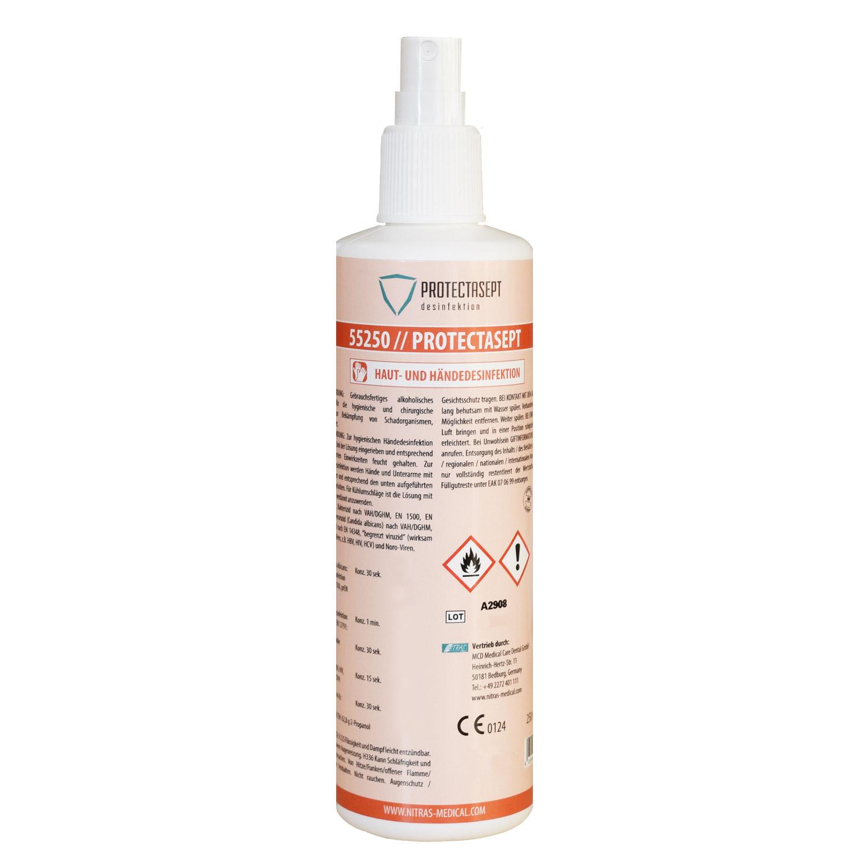 Hautdesinfektionsspray, 250ml