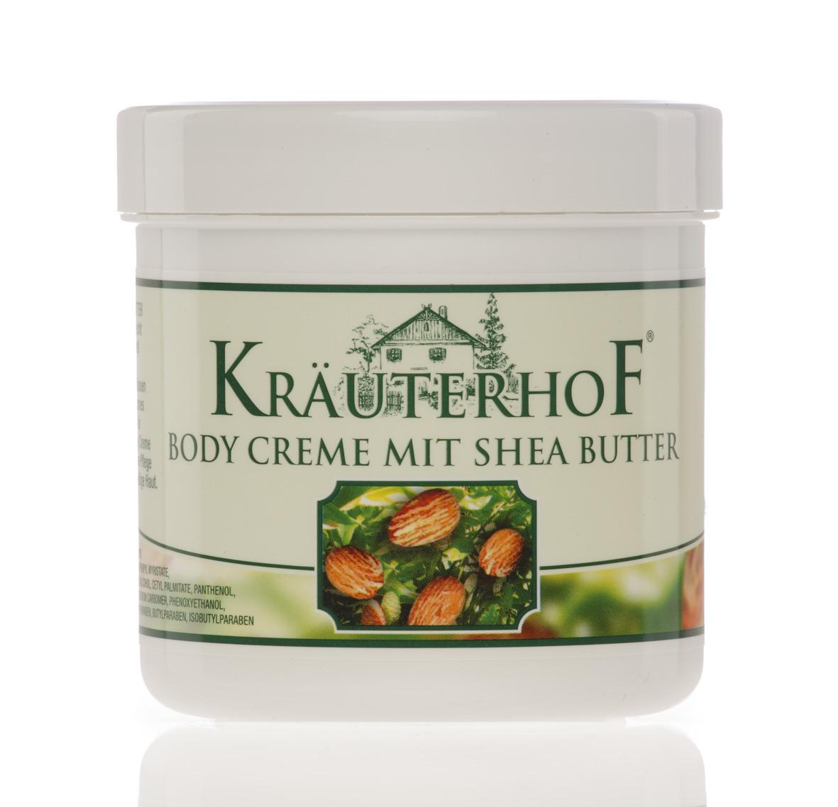 Kräuterhof Body-Creme mit Shea Butter, 250 ml
