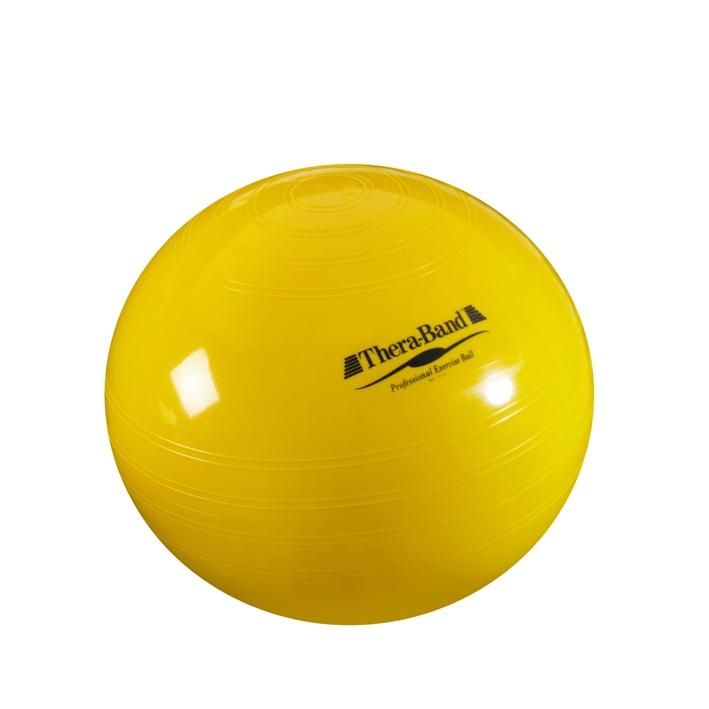 Thera-Band Gymnastik-Ball Ø 45 cm, gelb, bis Körpergröße 150 cm