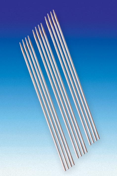 Watteträger Hartholz einseitig spitz, 25 cm, Ø 3 mm (100 Stck.)