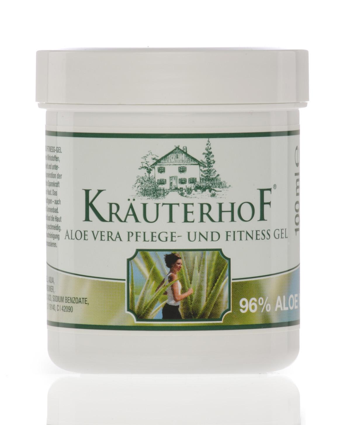 Kräuterhof Aloe Vera Pflege- und, Fitnessgel 100 ml
