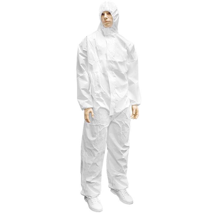 Overall Z2 Secutex Pro 5/6, einzeln verpackt, weiß, Gr. 4 (XL)