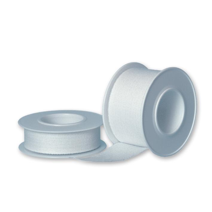 Rolltex Heftpflaster weiß, 5 m x 2,5 cm (12 Rl.)