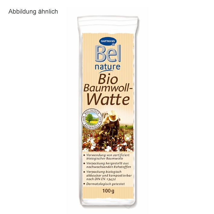 Bel Nature Baumwoll-Watte 200 g
