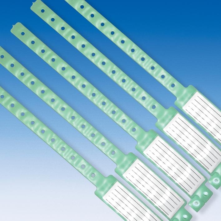 Namensbänder Erwachsene, Original Veri Color, grün (250 Stck.)