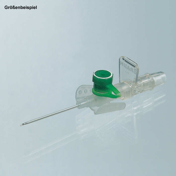 Vasofix Braunüle 18 G, 1,3 mm, grün, 45 mm Stichlänge