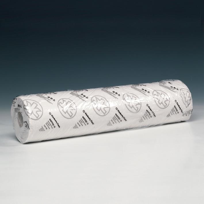 SCOTT ESSENTIAL Ärzterollen, 1-lagig, weiß, geprägt, 59 x 37 cm (6 x 198 Bl.)