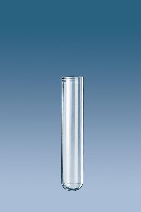 PS-Röhrchen 3,5 ml, 55 x 12 mm, steril, m.montiertem Eindrückstopfen (100 Stck.)