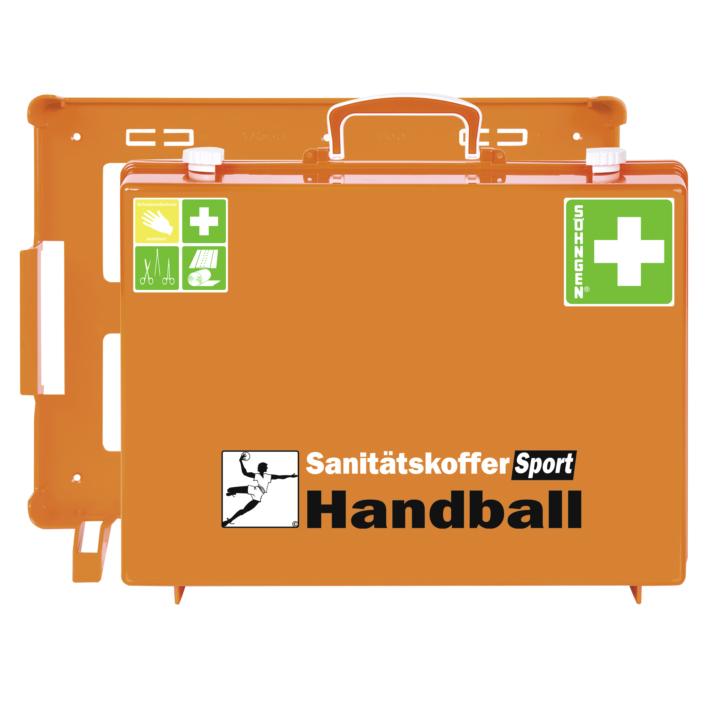 Sanitätskoffer SPORT Handball, orange