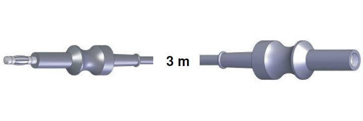 Anschlusskabel ERBE -> S-B-S-BER-MAR, 3,0 mtr.