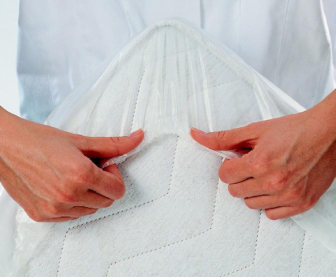 Curaderm Matratzenspannbezug für, Matratzengrößen 90x190 bis 100x200 cm