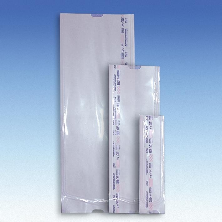 Steri-Beutel 75 x 200 mm ohne Falte mit 2 Indikatoren