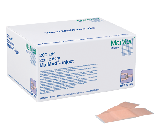Injektionspflaster, 1cmx4cm, 400 St./Box