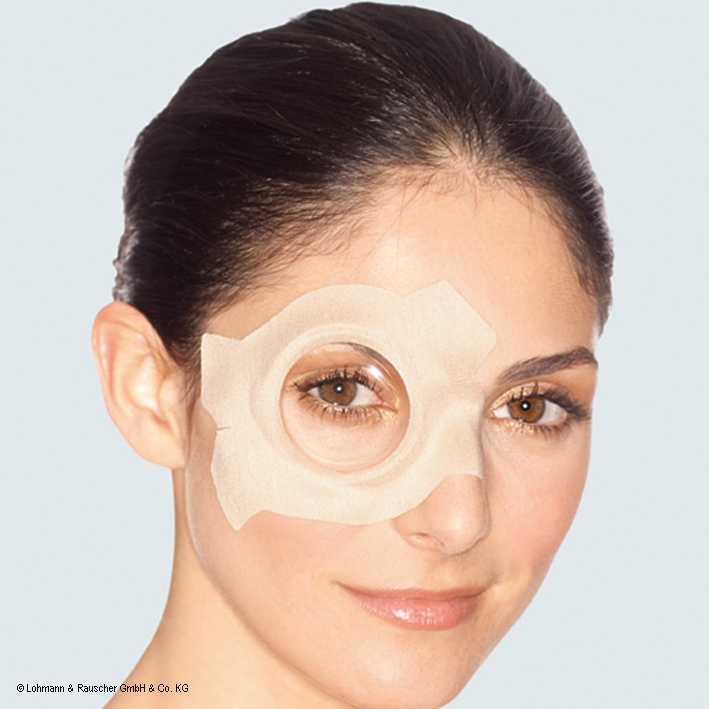 Pro-ophta Augenverband S - groß, 7,8 x 11,4 cm