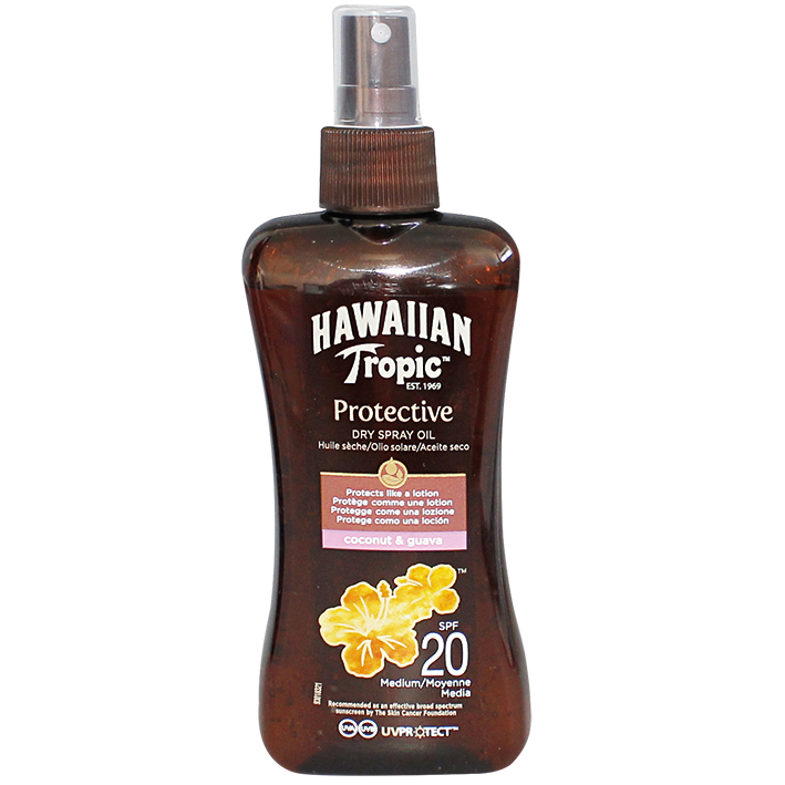 Hawaiian Tropic Protective Dry Spray Oil, 200 ml LSF 20 #Y301017600#