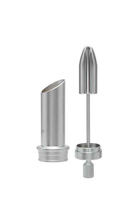Anoskop-Tubus, 60 mm lang, Ø 22 mm, komplett mit Obturator