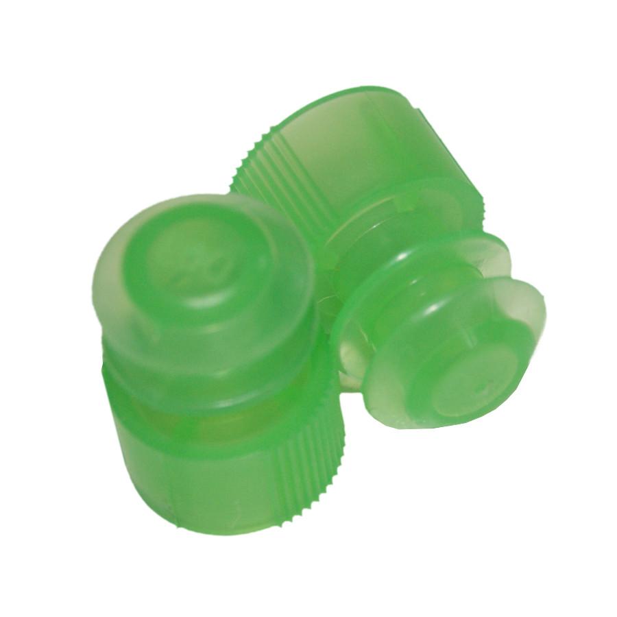Lamellenstopfen ø12 mm grün, 2 große Dichtlamellen (1000 Stk.)