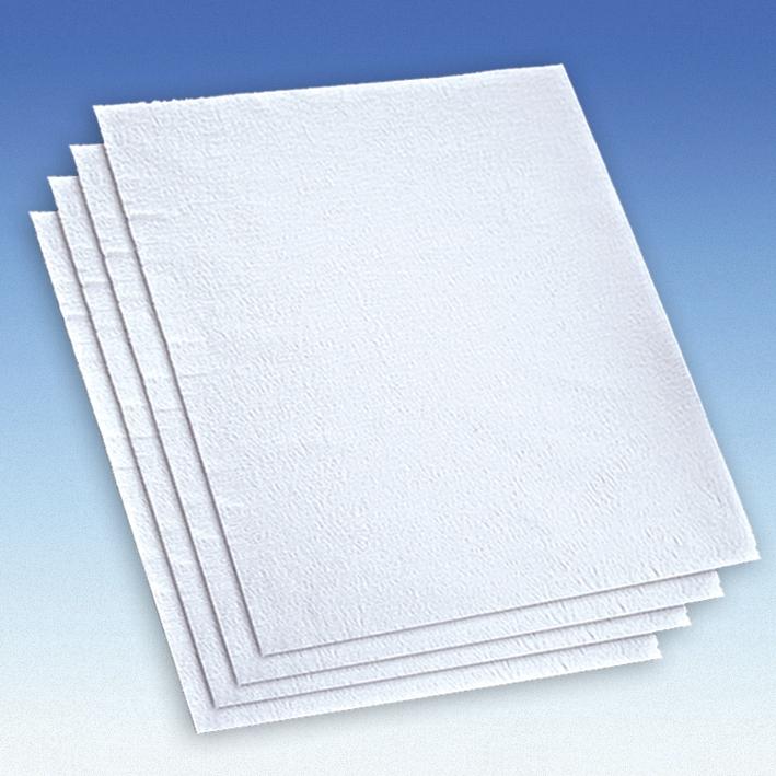 Servietten ratiomed, Typ Dental, weiß, 34 x 38 cm, 1-lagig (1000 Stck.), Nasskrepp
