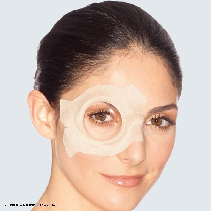 Pro-ophta Augenverbände S - groß, 7,8 x 11,4 cm (50 Stck.)