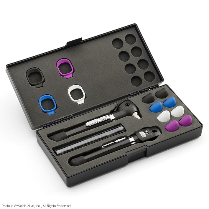 Pocket Plus LED Set onyxschwarz, mit Hartschalenetui