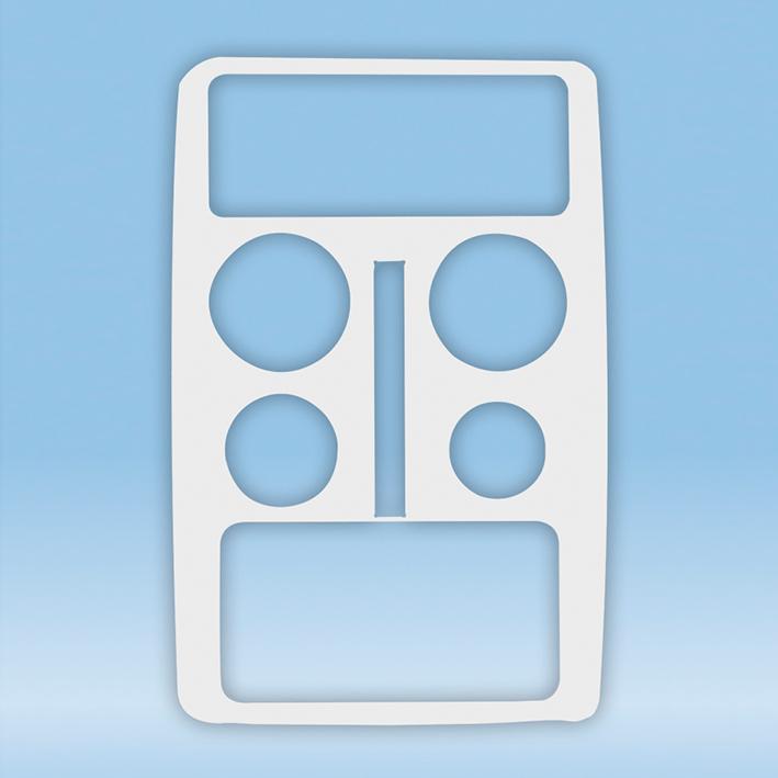 separate Einlegeplatte für SAFETY-TRAY, Version 4