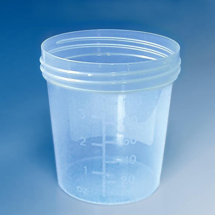 Urinbecher 100/125 ml ohne Schraubdeckel grün (1000 St.)