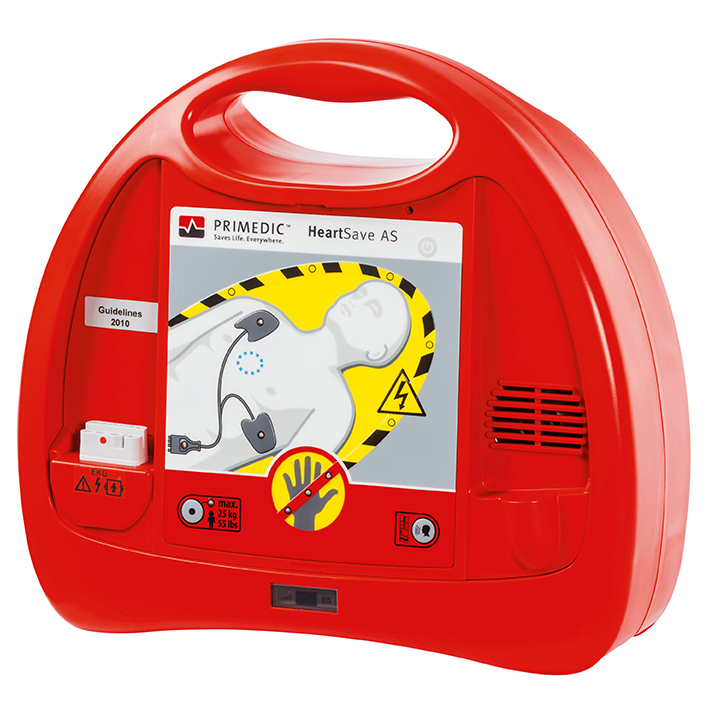 HeartSave AS (Batterie), Defibrillator (Sprachpaket DE_GB_ES_FR)