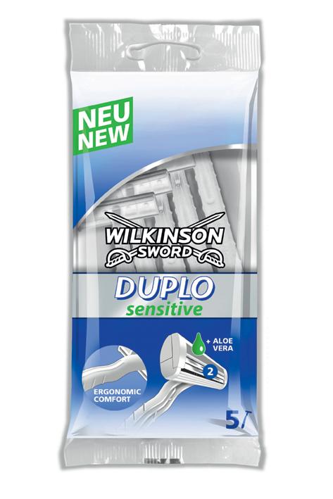 Einmal-Rasierer Wilkinson Duplo Sensitive Typ 6188E (5 Stck.)