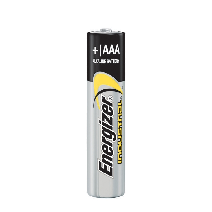 Energizer Industrial Batterien Micro, AAA LR03 1,5 V, 1250 mAh (10er-Pack),