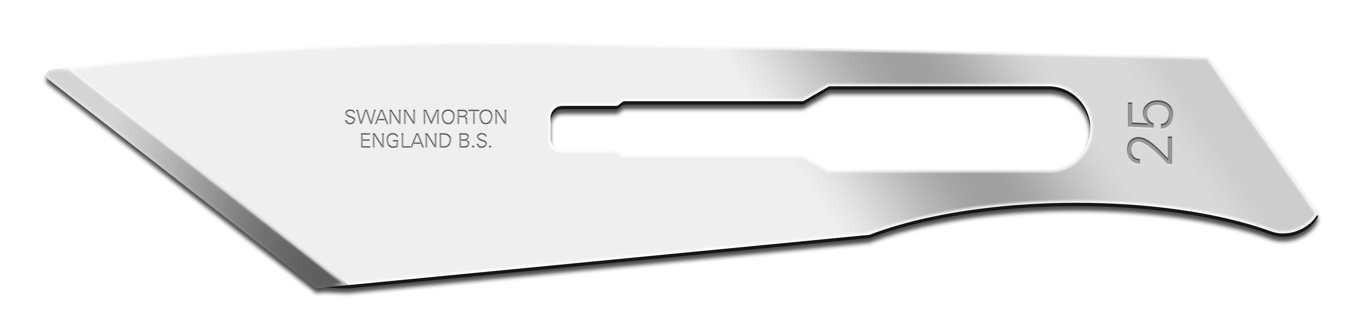 Einmal-Skalpellklingen Swann-Morton, Fig. 25 steril (100 Stck.)