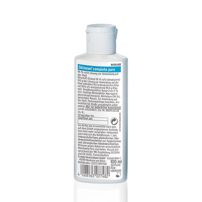 Skinman complete pure 100 ml, Händedesinfektion