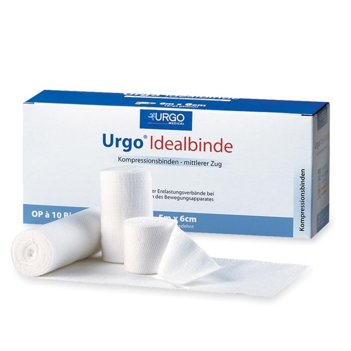 Urgo Idealbinden, weiß, 5 m x 15 cm (10 Stck.)