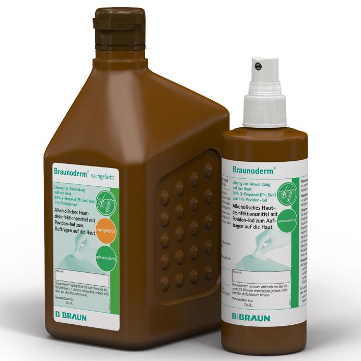 Braunoderm nachgefärbt 5 Ltr., Hautdesinfektion