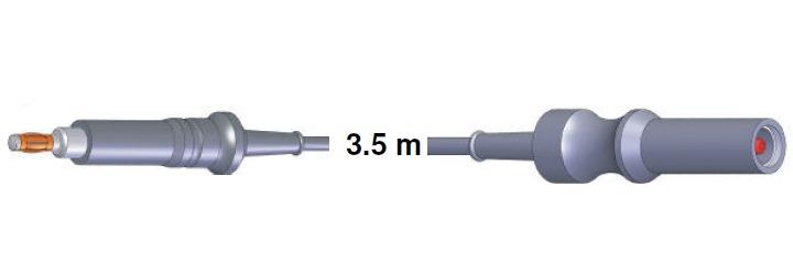 Monopolar Anschlusskabel, ERBE -> Endoskopiegriff,3,5 mtr.
