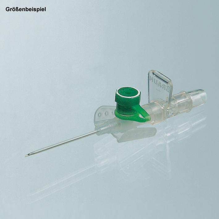 Vasofix Braunüle 16 G, 1,7 mm, grau, 50 mm Stichlänge