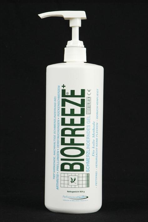 Biofreeze - schmerzlinderndes Gel, Spender mittel 904 g