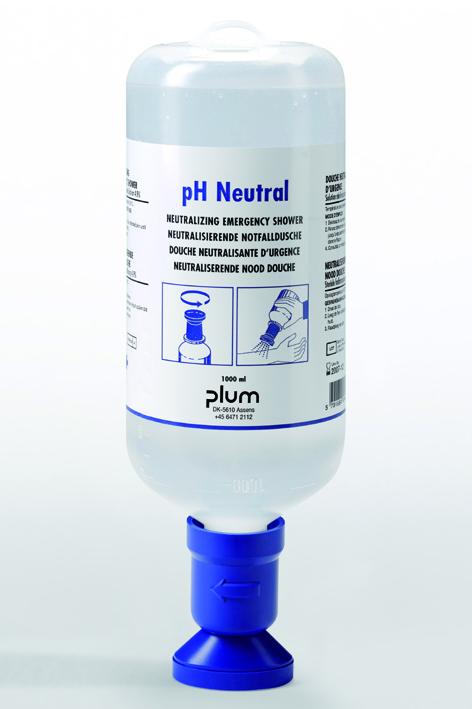 Plum Augenspülflasche 1000 ml pH Neutral, (4,9 % Phosphatlösung)