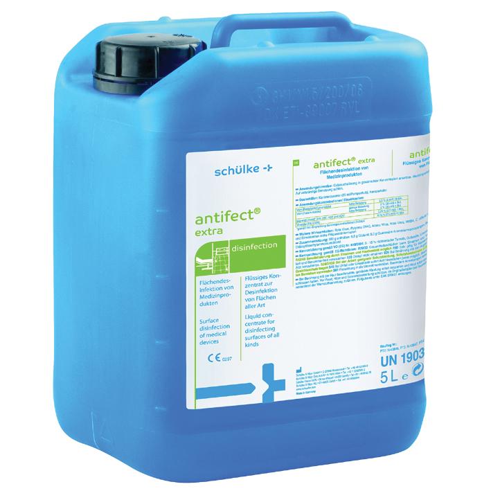 antifect extra 5 Ltr., Flächendesinfektion