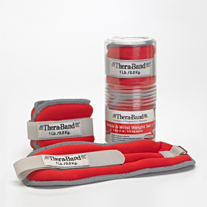 Thera-Band Gewichtsmanschetten, 2 x 450 g, rot
